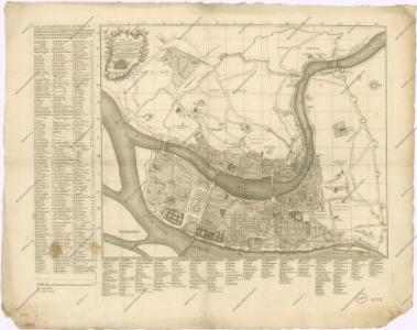 Plan geometral et proportionel de la ville de Lyon