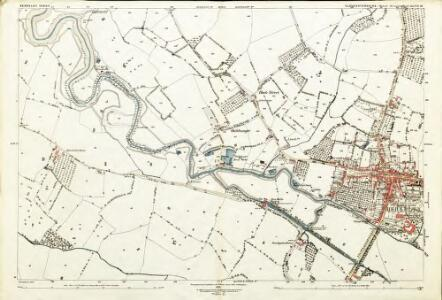 Gloucestershire XLVII.16 (includes: Berkeley; Ham and Stone; Hamfallow; Hinton) - 25 Inch Map