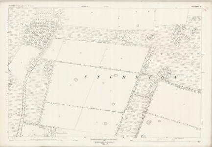 Norfolk LXXXIII.16 (includes: Stanford; Sturston; Wretham) - 25 Inch Map