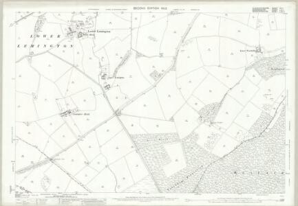 Gloucestershire XV.11 (includes: Batsford; Great Wolford; Todenham) - 25 Inch Map