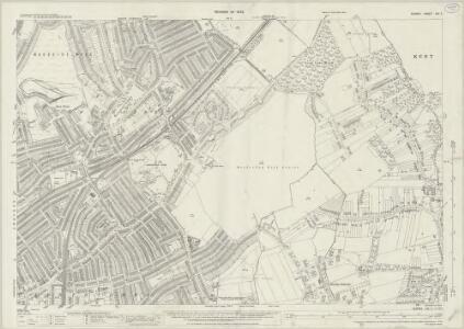 Surrey XIV.7 (includes: Croydon St John The Baptist) - 25 Inch Map