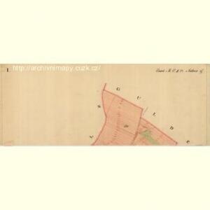 Nuesiedl - m2070-1-009 - Kaiserpflichtexemplar der Landkarten des stabilen Katasters