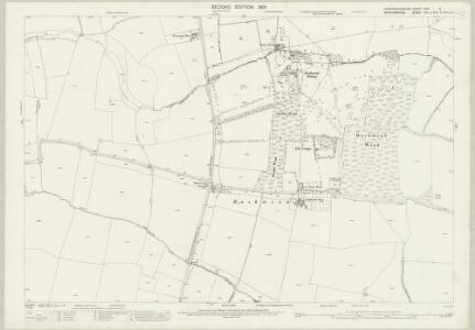 Huntingdonshire XXIV.12 (includes: Bolnhurst and Keysoe; Colmworth; Eaton Socon; Great Staughton; Little Staughton) - 25 Inch Map