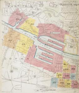 Insurance Plan of Glasgow Vol. V Key Plan 2