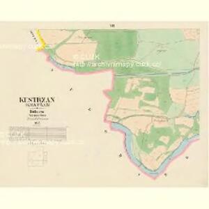 Kestrzan (Kestřan) - c3095-2-006 - Kaiserpflichtexemplar der Landkarten des stabilen Katasters