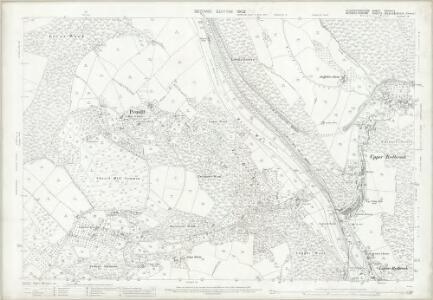 Gloucestershire XXXVIII.2 (includes: Mitchell Troy United; Monmouth; Newland; Staunton; Trelech United) - 25 Inch Map
