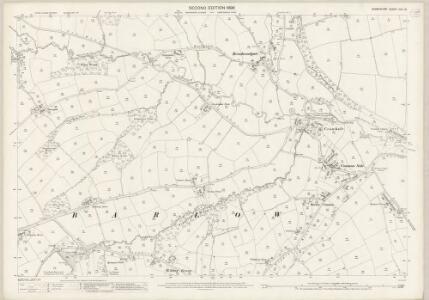 Derbyshire XVII.12 (includes: Barlow; Holmesfield) - 25 Inch Map