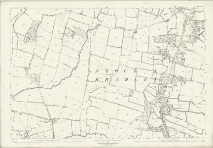 Worcestershire XXX.5 (includes: Feckenham; Hanbury; Stock and Bradley) - 25 Inch Map