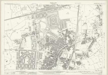 Lancashire CXV.5 (includes: Widnes) - 25 Inch Map