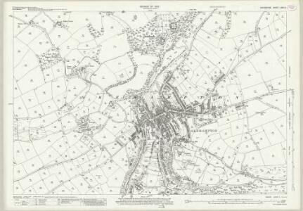 Devon LXXVI.4 (includes: Okehampton Hamlets; Okehampton) - 25 Inch Map