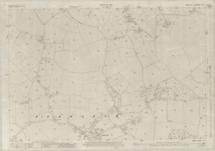 Essex (New Series 1913-) n XVII.9 (includes: Alphamstone; Pebmarsh; Twinstead) - 25 Inch Map