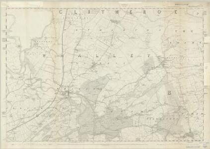 Lancashire LV - OS Six-Inch Map