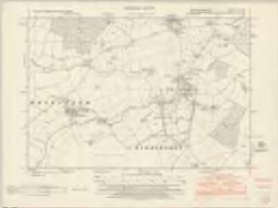 Buckinghamshire VII.SE - OS Six-Inch Map