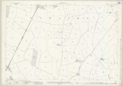 Yorkshire XXV.4 (includes: Cleasby; Manfield; Newton Morrell; Stapleton) - 25 Inch Map