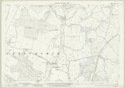 Dorset XVI.11 (includes: Alderholt; Cranborne; Edmondsham; Verwood; Wimborne St Giles) - 25 Inch Map