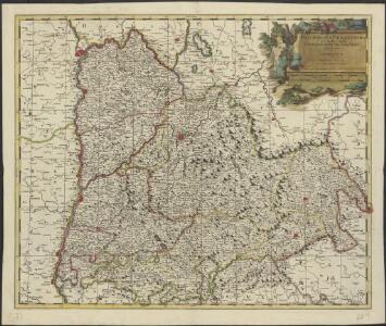 Delphinatus praefectura quae Gallis audit Gouvernement de Dauphiné, bipartitus in Superiorem et Inferiorem