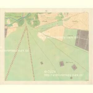 Bisenz (Bzenec) - m0321-1-010 - Kaiserpflichtexemplar der Landkarten des stabilen Katasters
