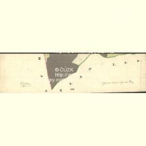 Muggrau - c4814-1-007 - Kaiserpflichtexemplar der Landkarten des stabilen Katasters
