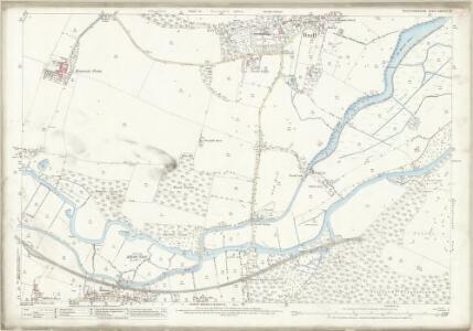 Staffordshire XXXVIII.13 (includes: Baswich; Colwich; Tixall) - 25 Inch Map
