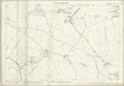 Hertfordshire XLIV.3 (includes: Aldenham; Bushey) - 25 Inch Map