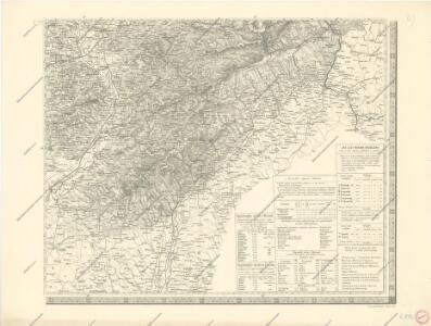 Mapa země moravské