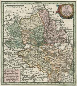 Das Marckgraffthum Ober und Nieder Lausitz mit seinen abgetheilten Creissen inliegenden Herrschafften Clöstern u: Aemtern