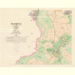 Nezditz (Nezdice) - c5104-1-002 - Kaiserpflichtexemplar der Landkarten des stabilen Katasters