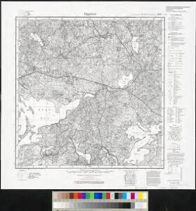 Meßtischblatt 2198 : Dippelsee, 1938