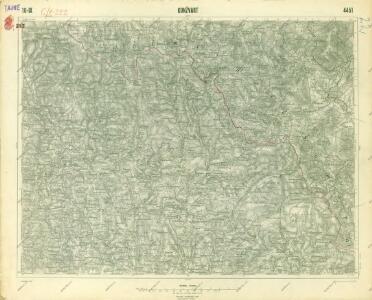 III. vojenské mapování 4451