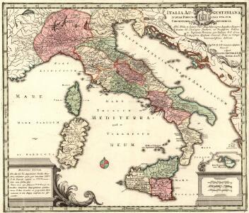 Italia Augustiniana In Suas Provincias una cum Conventibus ac Distributa