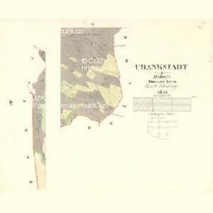 Frankstadt - m2079-2-011 - Kaiserpflichtexemplar der Landkarten des stabilen Katasters