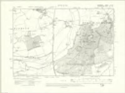Berkshire X.NE - OS Six-Inch Map