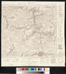 Meßtischblatt 4952 : Schluckenau, 1944