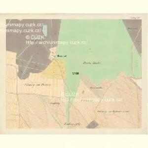 Göding (Hodonin) - m0741-1-016 - Kaiserpflichtexemplar der Landkarten des stabilen Katasters