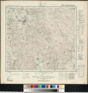 Meßtischblatt 6642 : Waldmünchen, 1942