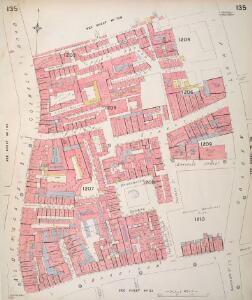 Insurance Plan of London Vol. VI: sheet 135