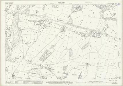 Shropshire XII.13 (includes: Oswestry Rural; Oswestry Urban; Selattyn) - 25 Inch Map