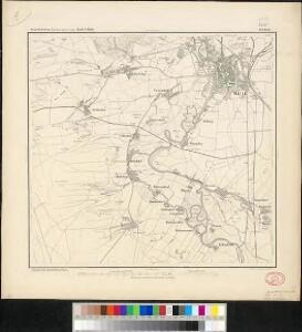 Messtischblatt 283 : Halle, 1872 Halle