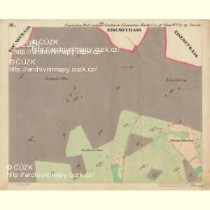 Eisenstein Dorf - c7755-2-003 - Kaiserpflichtexemplar der Landkarten des stabilen Katasters