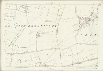 Leicestershire XX.7 (includes: Freeby) - 25 Inch Map