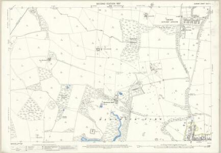 Durham XLIII.4 (includes: Bishop Middleham; Bradbury; Sedgefield) - 25 Inch Map