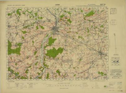 France and Belgium 1:50,000, Louvain