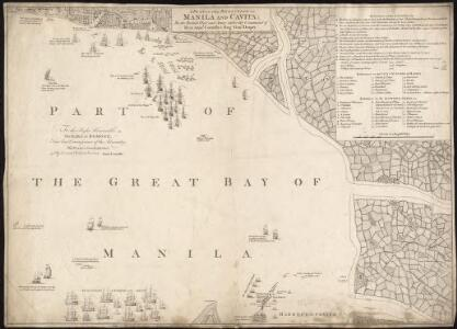 A plan of the reduction of Manila and Cavita