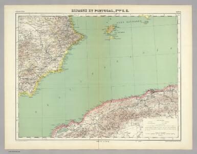 Espagne et Portugal.  Flle. S.E.