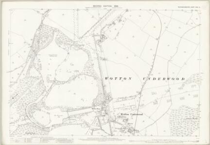 Buckinghamshire XXVII.6 (includes: Wotton Underwood) - 25 Inch Map