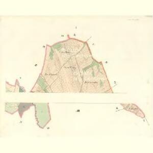 Lhottapodhrady - m2317-1-001 - Kaiserpflichtexemplar der Landkarten des stabilen Katasters