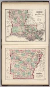 Louisiana.  Arkansas.