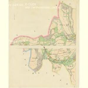 Kaunow - c3425-1-003 - Kaiserpflichtexemplar der Landkarten des stabilen Katasters