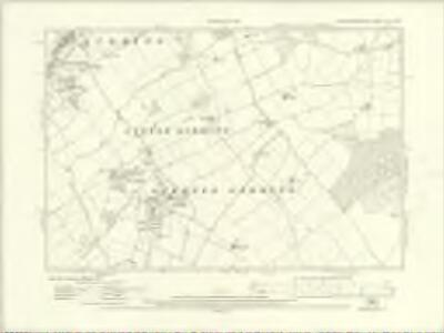 Huntingdonshire XIII.NW - OS Six-Inch Map