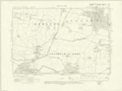 Yorkshire XIV.SW - OS Six-Inch Map